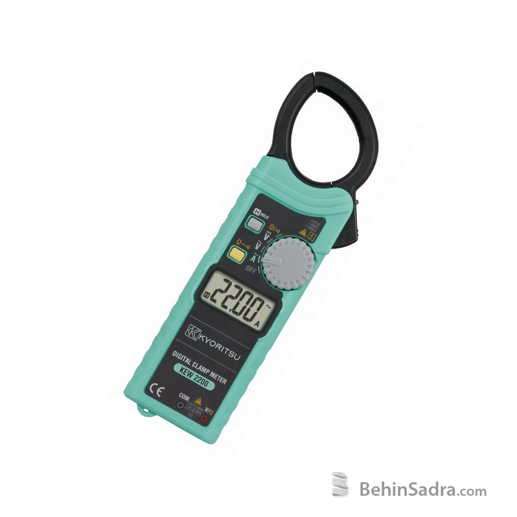 کلمپ آمپرمتر کیوریتسو 2200