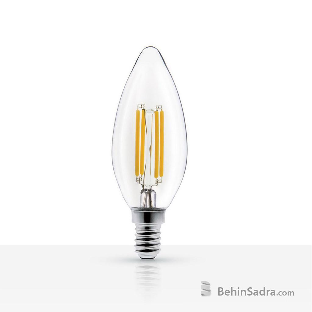 لامپ LED شمعی کلاسیک 4 وات فیلامنتی میتره