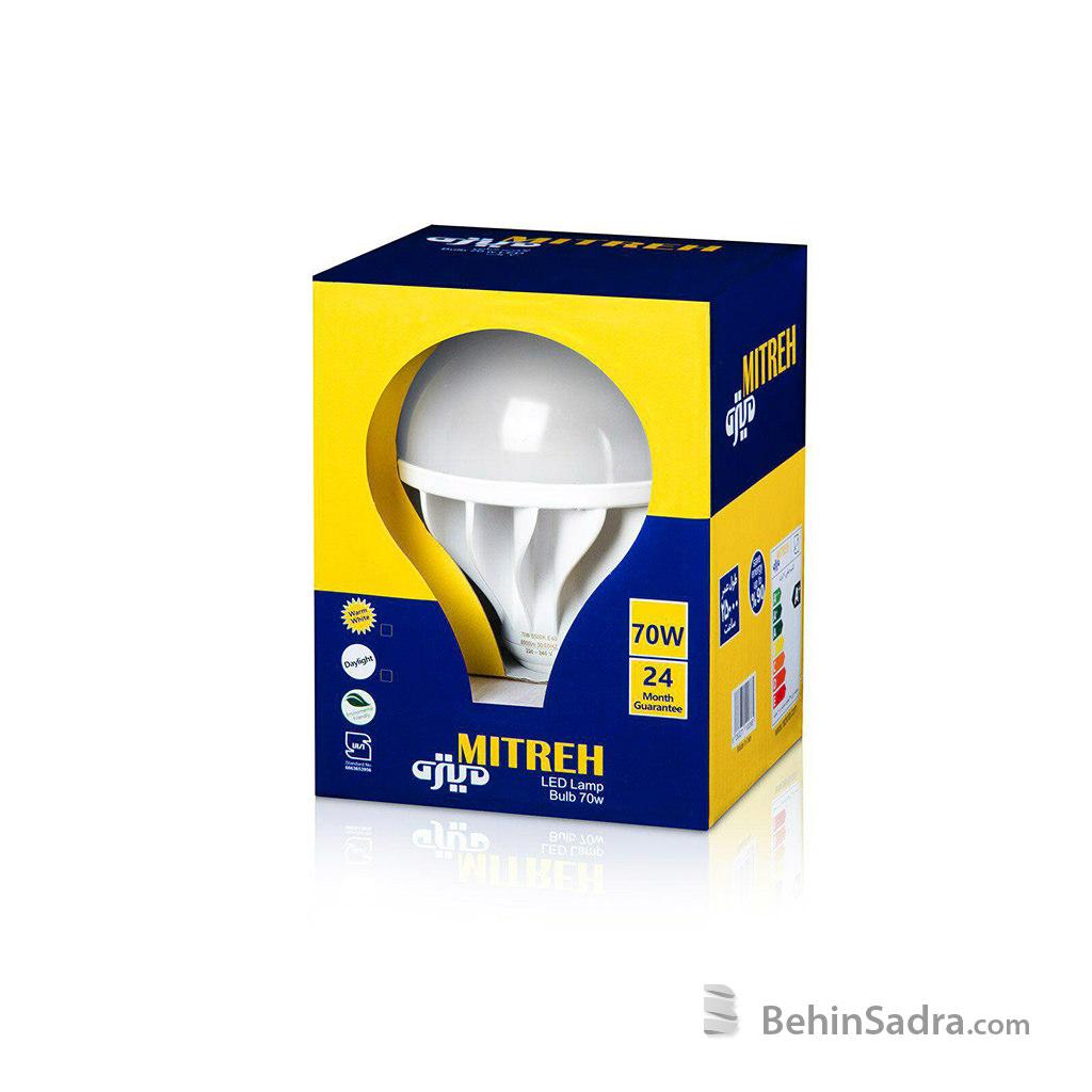 لامپ LED حبابی 70 وات میتره (E40)