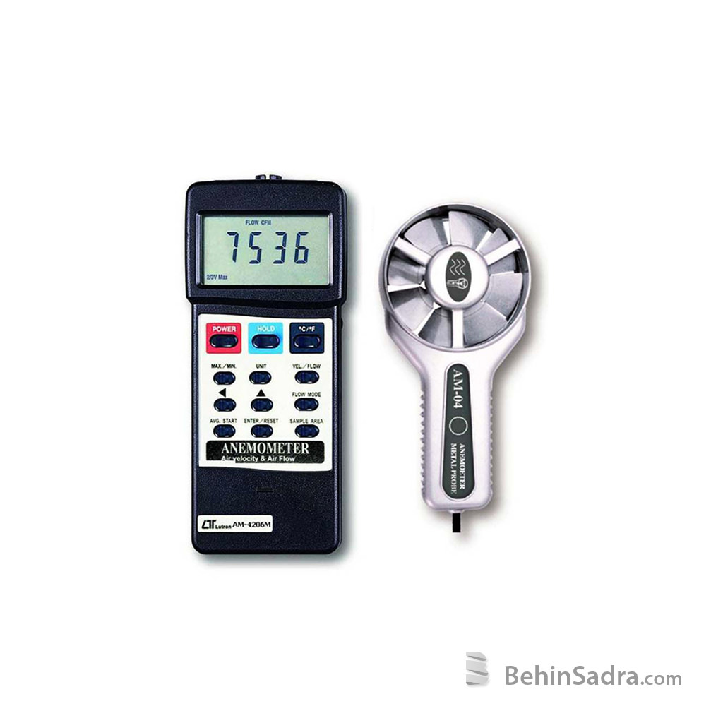 سرعت سنج باد، ترمومتر و فلومتر لوترون AM-4206M